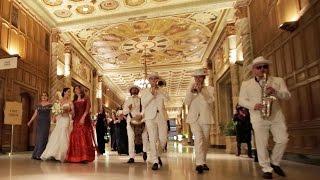 ELIs BAND - Tish / Bedekken Beautiful Bride & Groom Entrance | Jewish Tradition