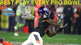 Best Play from Every Pro Bowl Since 2004 | NFL Throwback