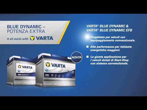 VARTA Batterie Blue