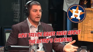 How Reds Pitcher Trevor Bauer Discovered That The Astros Were Cheating