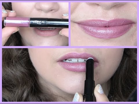 L'Oréal Infallible Pro-Last Lipcolor: First Impression + Review!