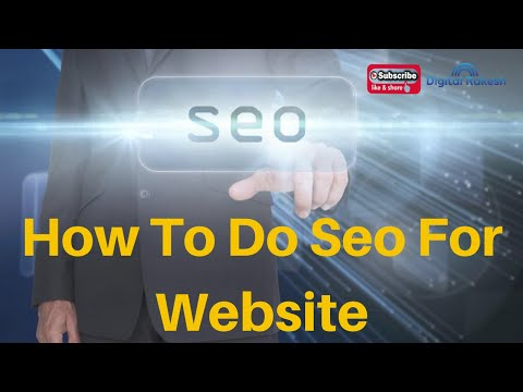 How To Do Seo For Website Step By Step Tutorial 2020