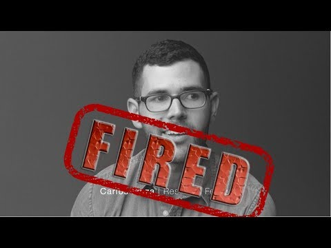 Carlos Maza Was Totally FIRED By Vox Media :)