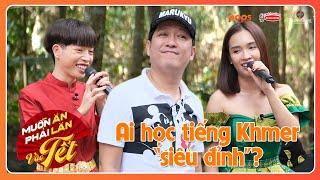 Lần đầu nói tiếng Khmer: Giang Ca học ngay câu Anh yêu em, Ái Phương rối não, Đức Phúc hát cực nuột