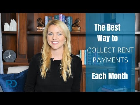 The Best Way to Collect Rent Payments Each Month