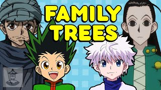 The Hunter X Hunter Family Tree | Get In The Robot
