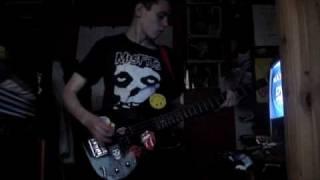 Zounds - War/Subvert (Bass Cover)