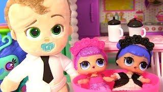 Мультик Куклы Лол! Босс Молокосос и Пупсы Лол! Фердинанд в поисках Семьи Лол! Baby Dolls