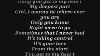 Aaron Carter - You get to my heart with lyrics