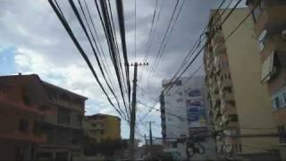 preview picture of video 'Tirana sky. Rruga Komuna e Parisit. 2009'
