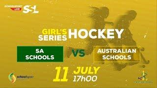 Girls Hockey, SA Schools Vs Australian Schools, 11 July 2018