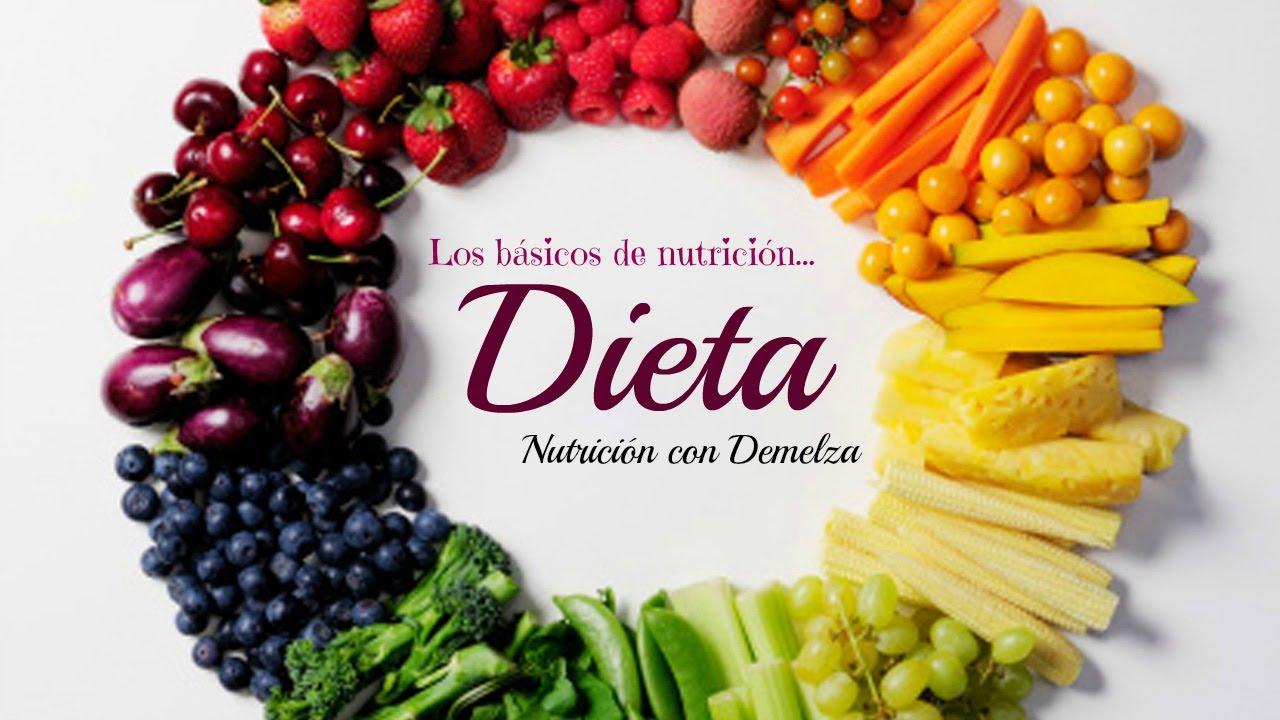 Nutrición con Demelza - Dieta