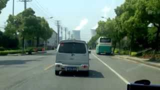 preview picture of video 'Driving in Shoufang on way to the office !'