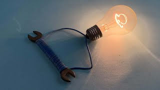 Free Energy Using Magnet With Light Bulb At Home / Electric Science