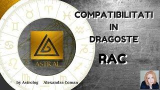 RAC - COMPATIBILITATI IN DRAGOSTE - By Astrolog Alexandra Coman