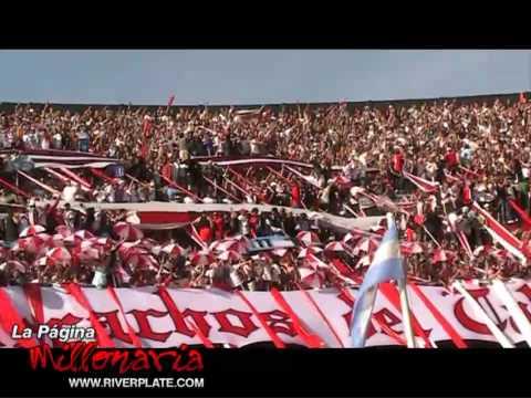 """""""Yo vengo por la camiseta, Superclasico Apertura 2009"""" Barra: Los Borrachos del Tablón • Club: River Plate • País: Argentina"""
