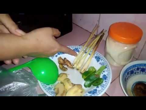 Video Cara membuat Wedang Jahe-Indonesian Food