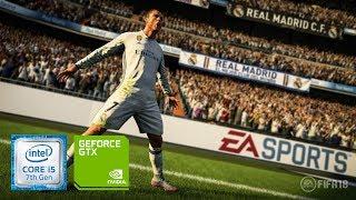 FIFA 18 [ High setting ] on Geforce gt 940MX - i5 7200u - 8GB Ram [Acer E5 475G]