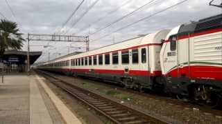 preview picture of video 'EuroStar City FrecciaBianca 9777 Milano C.le - Roma T.ni @Livorno Centrale'