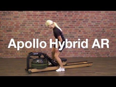 обзор гребного тренажера Apollo Hybrid