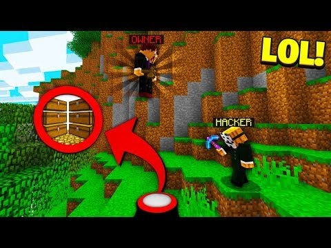 watching Minecraft HACKERS XRAY a underground CURSED BASE! (Catching Hackers)