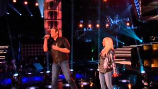 Christina Aguilera and Blake Just A Fool The Voice