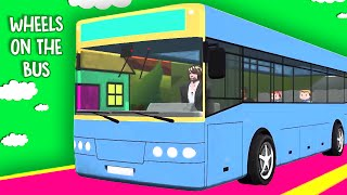 Wheels On The Bus Nursery Rhymes For Children | Wheels On The Bus Rhymes | Kids Nursery Rhymes