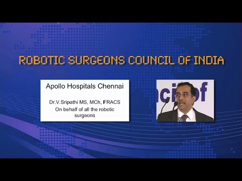 Status of Robotic Surgery - Apollo Chennai Hospitals