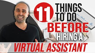 11 Things To Do BEFORE Hiring A Virtual Assistant in 2020