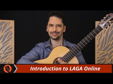 Introduction to LAGA Online Classical and Flamenco guitar lessons