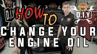 DIY How to Change Your Engine Oil