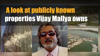 A look at publicly known properties Vijay Mallya owns