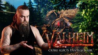 Valheim Cribs With Hvergelmir - A real Viking long house