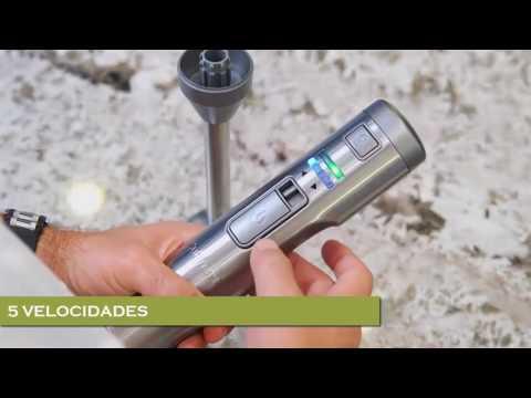 Batidora de Mano y cuchillo  - Multifunción inalambrico -CBS 300
