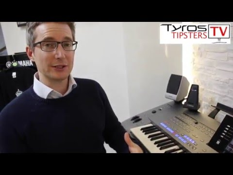 How to make your intros and endings sound more professional on Yamaha Tyros 5