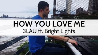"""""""How You Love Me"""" - 3LAU ft. Bright Lights (Live Cover in NYC) - Niko Kotoulas"""