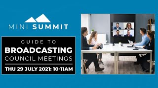 Broadcasting Council Meetings with Cloudy IT (July 2021)