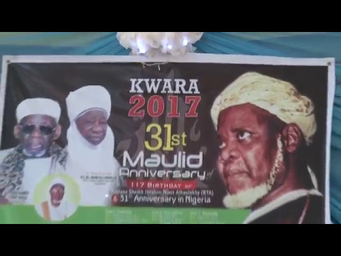 Video of Maulid Sheikh Ibrahim Niass held in Ilorin