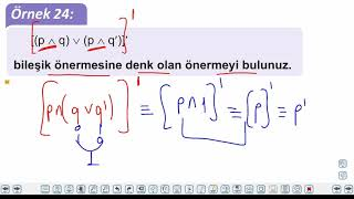 Eğitim Vadisi 9.Sınıf Matematik 1.Föy Mantık 3 Konu Anlatım Videoları