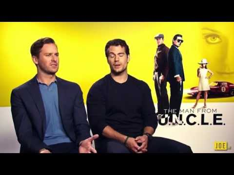 JOE meets Henry Cavill & Armie Hammer, stars of The Man From U.N.C.L.E.