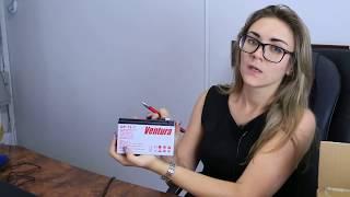 Аккумулятор Ventura GP 12-7 от компании ПКФ «Электромотор» - видео