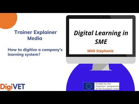 How to digitize a company's learning system?