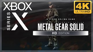 [4K] Metal Gear Solid HD Collection (MGS 3) / Xbox Series X Gameplay
