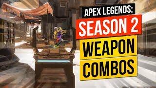 Apex Legends Tips Season 2  Weapon Combos PC XBOX PS4