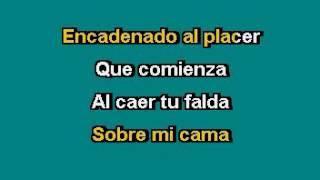 Encadenados Manuel Mijares karaoke.