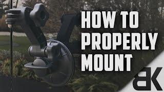 How to Properly Mount the GoPro Suction Cup Mount