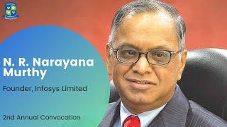 Adamas University   2nd Annual Convocation   N. R. Narayana Murthy