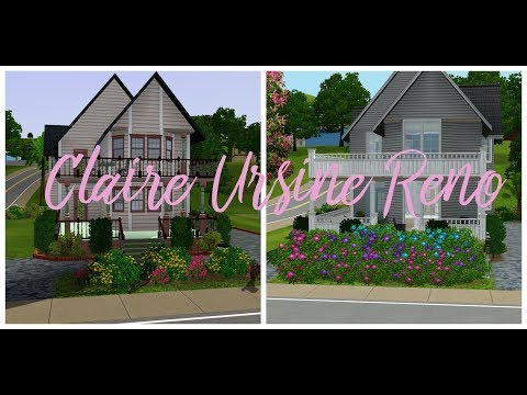 Claire Ursine Sims 3 CAS | Sunset Valley Not to Hot