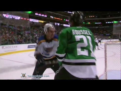 Antoine Roussel vs. Kevin Shattenkirk