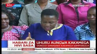 Viongozi Wanawake Kakamega wauunga mkono umoja wa raisi Uhuru Kenyatta na Raila Odinga